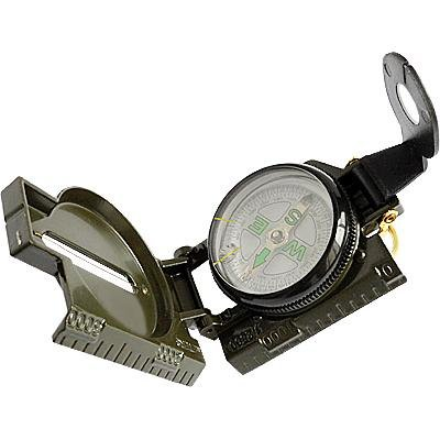 Classic Military Style Lensatic Sighting Compass