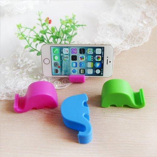 Elephant Cellphone Stand Holder - Red