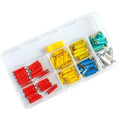 European German 80 Pcs Car Fuse Assortment