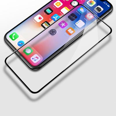 iPhone XS Max Full Coverage Tempered Glass Screen Protector