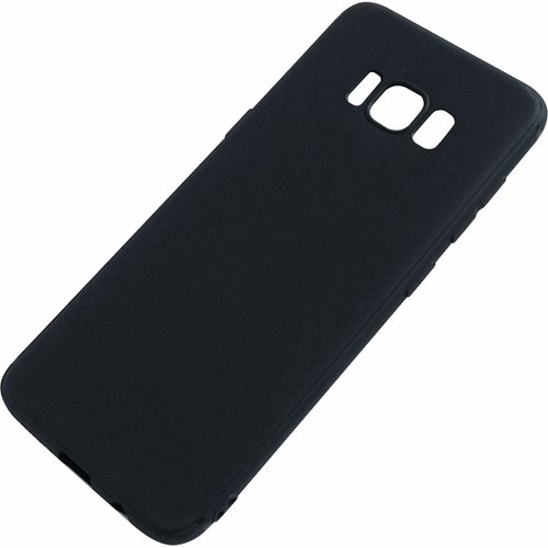 Silicone Case for Samsung Galaxy S8 - Black
