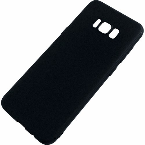 Silicone Case for Samsung Galaxy S8 Plus - Black