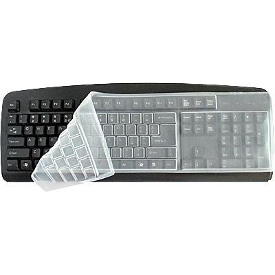Universal Desktop Computer Keyboard Skin Protector Cover