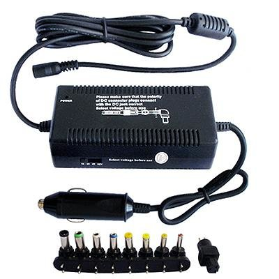 Universal Laptop Computer Car Charger 90W