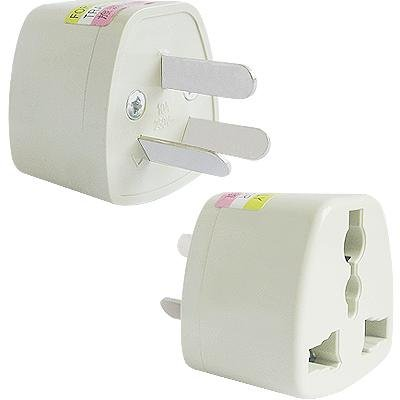 Universal Travel Plug Adaptor to Australia, New Zealand, China