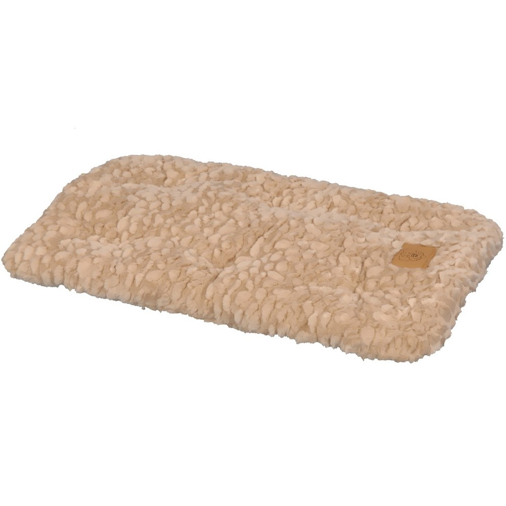 Your four-legged friend will love sleeping on this comfortable pet furniture from SnooZZy. Machine washable and overstuffed for comfort, this pet bed is convenient for you and cozy for your pet. A nonskid backing keeps this bed from sliding. Give your pet a comfortable place to sleep with a new pet bed from SnooZZy? Pet supply is perfect for use in crates, carriers, dog houses or anywhere? Overstuffed for supreme comfort? Nonskid backing? Machine wash