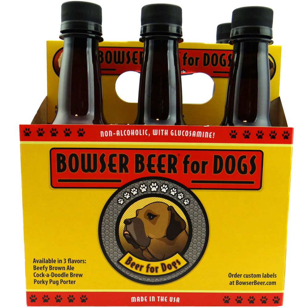 3 busy dogs bowser beer 6 pack porky pup porter 12 oz 1