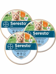 Seresto Collar for Cats (3-Pack)