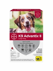 K9 Advantix II for Large Dogs 21-55 lbs, 6 Month