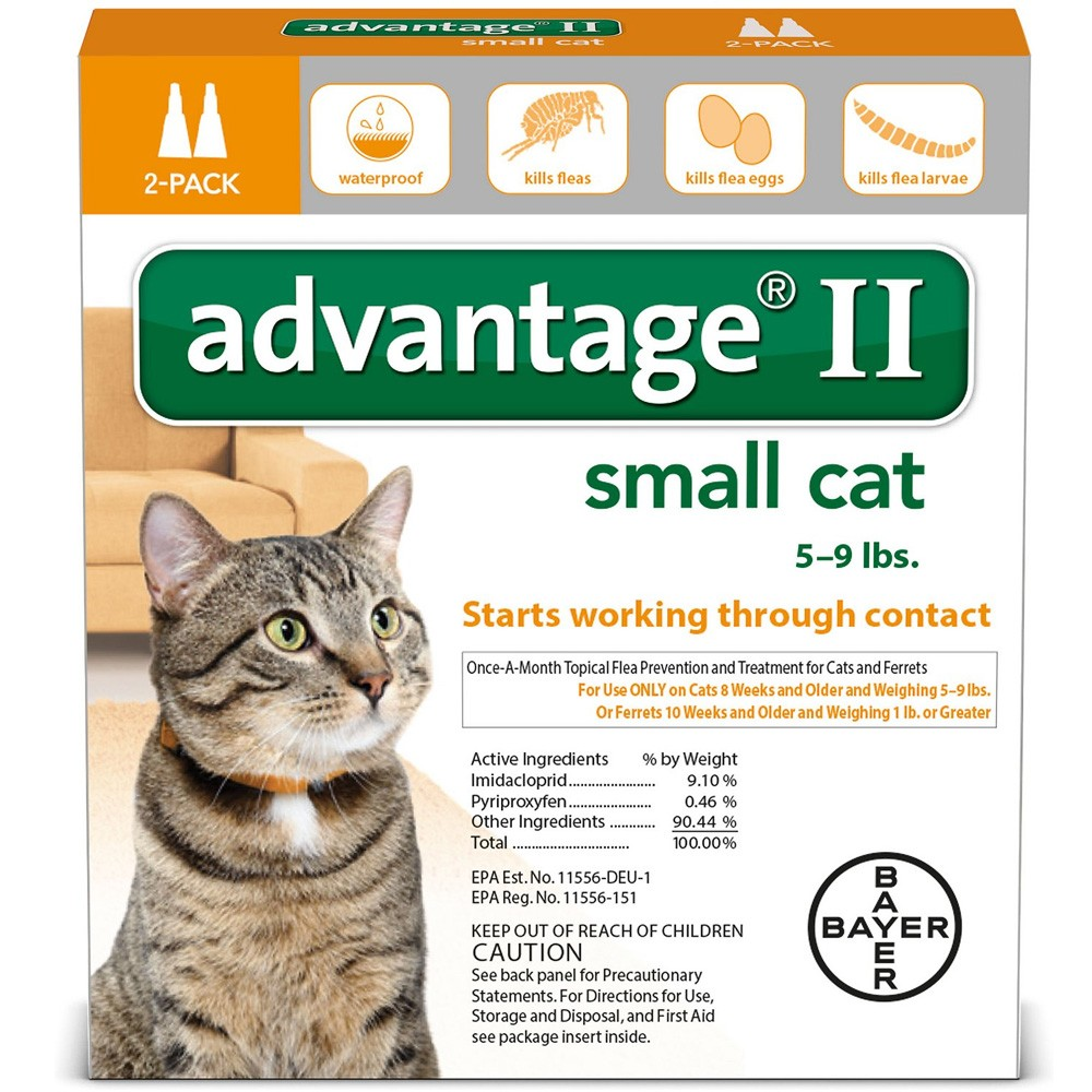 Advantage II Flea Control for Cats and Kittens