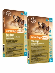 Advantage Multi for Dogs 9.1-20 lbs (12 Months)