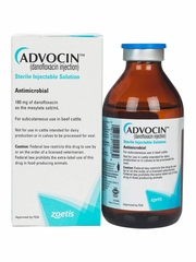 Advocin (Danofloxacin Mesylate) Sterile Injectable Solution