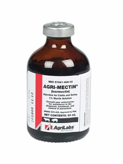Agri-Mectin (Ivermectin) 1% Sterile Solution Injection for Cattle and Swine (50 ml)