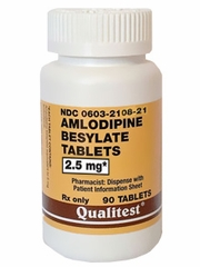 Amlodipine (Manufacturer may vary)