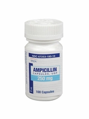 Ampicillin (Manufacturer may vary)
