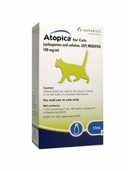 Atopica for Cats 100mg/ml 17ml