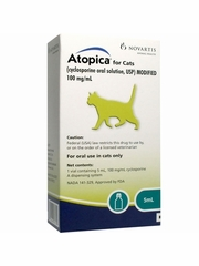 Atopica (Cyclosporine) for Cats