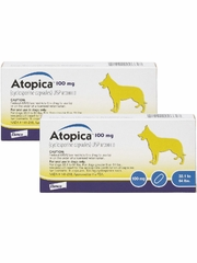 Atopica for Dogs 33.1-64 lbs 100 mg (30 capsules)