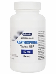 Azathioprine (Manufacturer may vary)