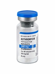Azithromycin Inj - 500mg by Generic (brand may vary)