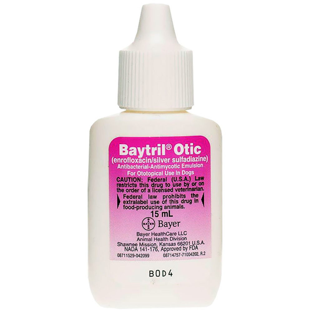 Baytril Otic Drop & Injectable