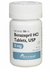Benazepril HCI (Manufacturer may vary)