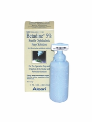 Betadine Ophthalmic 5% Solution (30 ml)