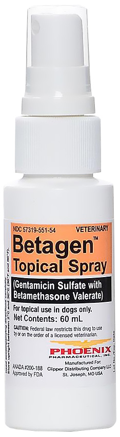 Betagen Topical Spray (Manufacture may vary)