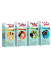 Bravecto 1-Month Chews for Dogs