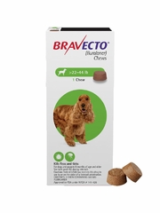 Bravecto for Dogs - 22-44 lbs (2 Chews)