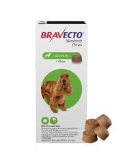Bravecto for Dogs - 22-44 lbs (4 Chews)