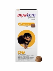 Bravecto for Dogs - 4.4-9.9 lbs (1 Chew)