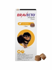 Bravecto for Dogs - 4.4-9.9 lbs (2 Chews)
