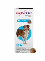 Bravecto for Dogs - 44-88 lbs (1 Chew)