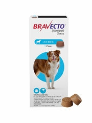 Bravecto for Dogs - 44-88 lbs (2 Chews)