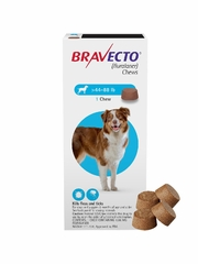 Bravecto for Dogs - 44-88 lbs (4 Chews)
