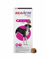 Bravecto for Dogs - 88-123 lbs (1 Chew)