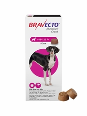 Bravecto for Dogs - 88-123 lbs (2 Chews)