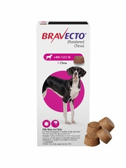 Bravecto for Dogs - 88-123 lbs (4 Chews)