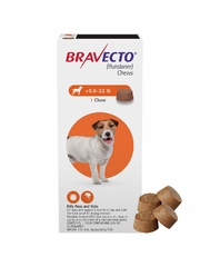 Bravecto for Dogs - 9.9-22 lbs (4 Chews)