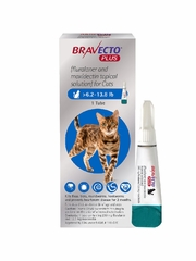 Bravecto Plus for Cats, 6.2 - 13.8 lbs