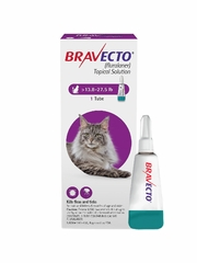 Bravecto Topical Solution for Cats 13.8 - 27.5 lbs