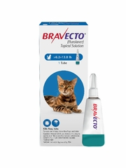 Bravecto Topical Solution for Cats 6.2 - 13.8 lbs