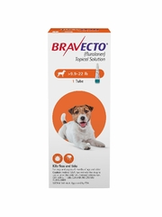 Bravecto Topical Solution for Dogs - 9.9-22 lbs (1 Tube)