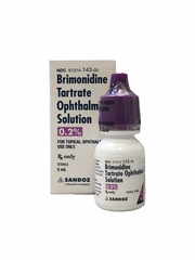 Brimonidine 0.2% Ophthalmic Solution (5 ml)