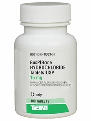 Buspirone (Manufacturer may vary)