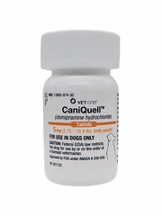 CaniQuell (Clomipramine Hydrochloride) 5mg (2.75-10.9 lbs) (per tablet)
