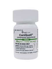 CaniQuell (Clomipramine Hydrochloride) 80mg (44.1-176 lbs) (30 tablets)