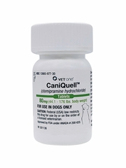 CaniQuell (Clomipramine Hydrochloride) 80mg (44.1-176 lbs) (per tablet)