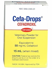 Cefa-Drops [Cefadroxil] (Manufacturer may vary)